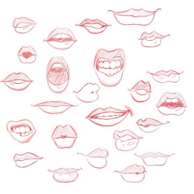 Drawn cute lip Long Related Best Suggestions Drawing