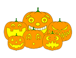 Drawn pumpkin cute Made Drawing for Faces Drawing