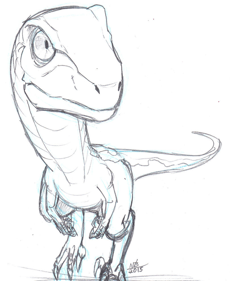 Drawn cute velociraptor Chibi Gallery ConstantScribbles on Cute