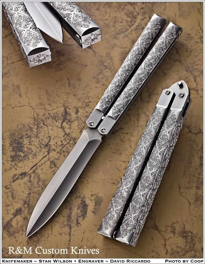 Drawn dagger double edged * 9 on Riccardo 1/8
