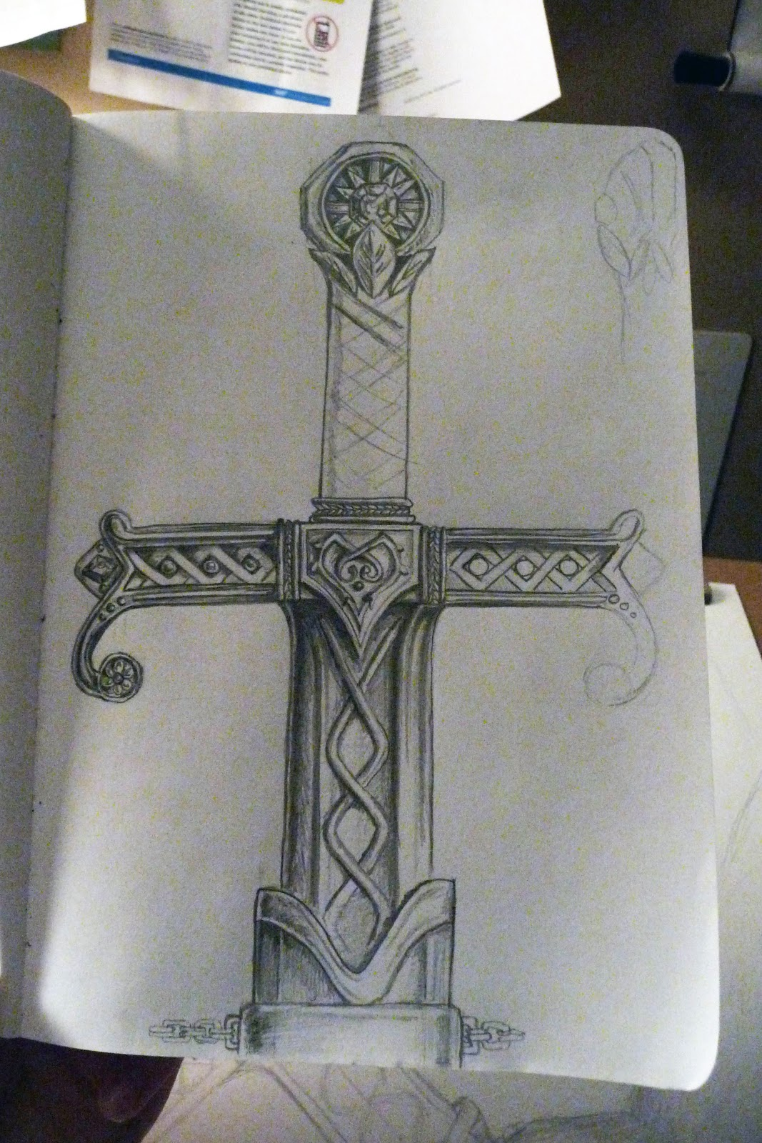 Drawn dagger epic The design looking scabbard did