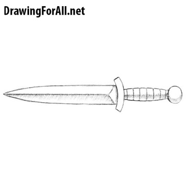 Drawn dagger famous To Part How drawingforall tutorials