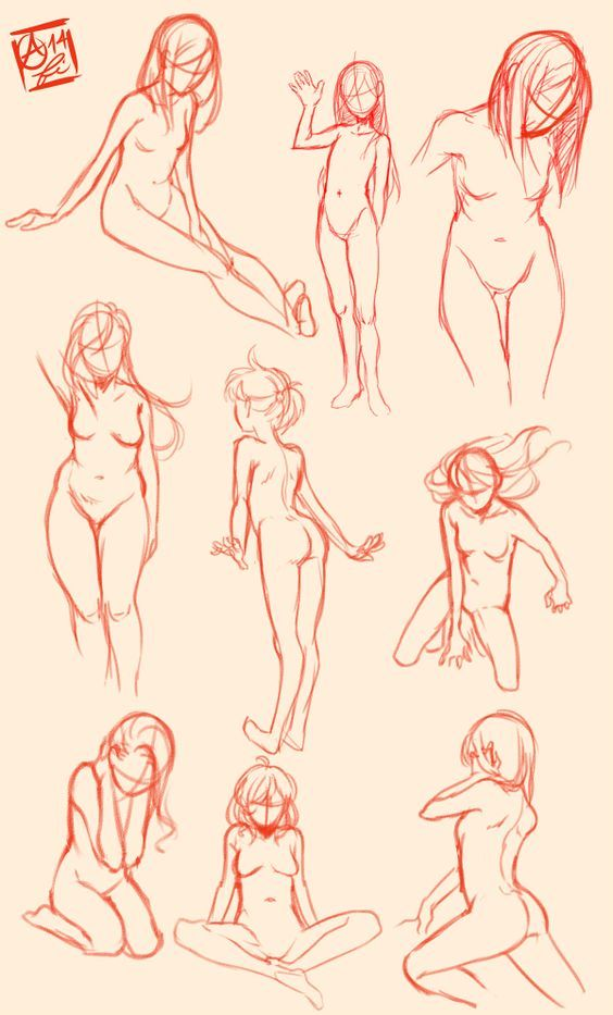 Drawn legz Art Study Pose on on