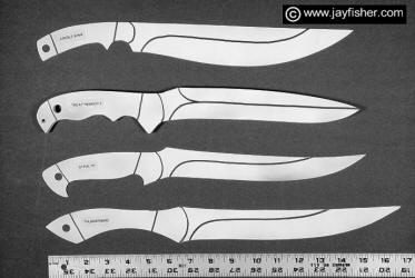 Drawn dagger military knife Collectors Art Custom Layouts Patterns