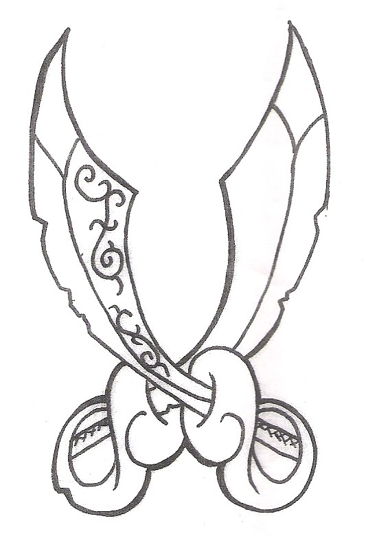 Drawn dagger pirate Blog fairy designs designs tattoo