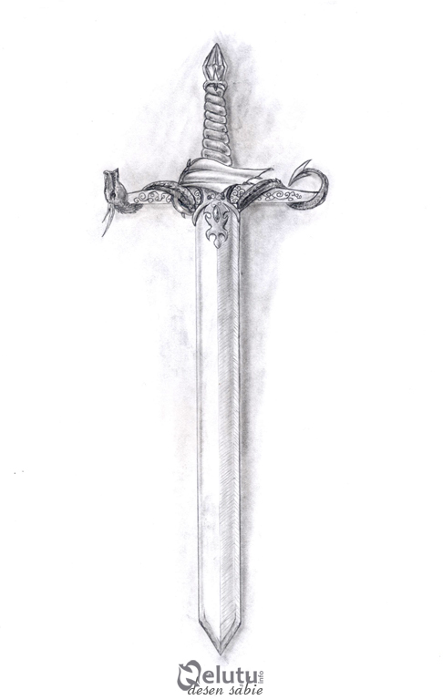 Drawn dagger religious On sword nelutuinfo DeviantArt by