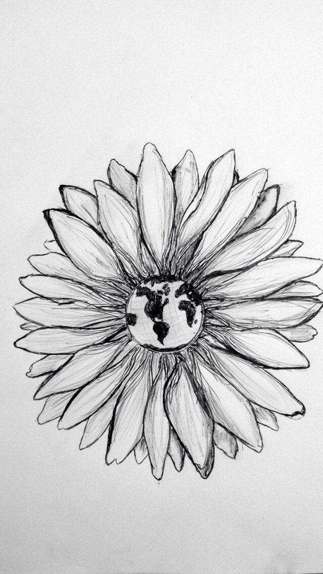 Drawn daisy indie flower #6