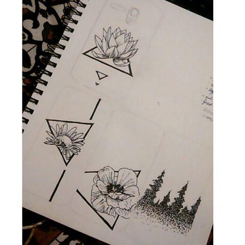 Drawn daisy indie flower #2