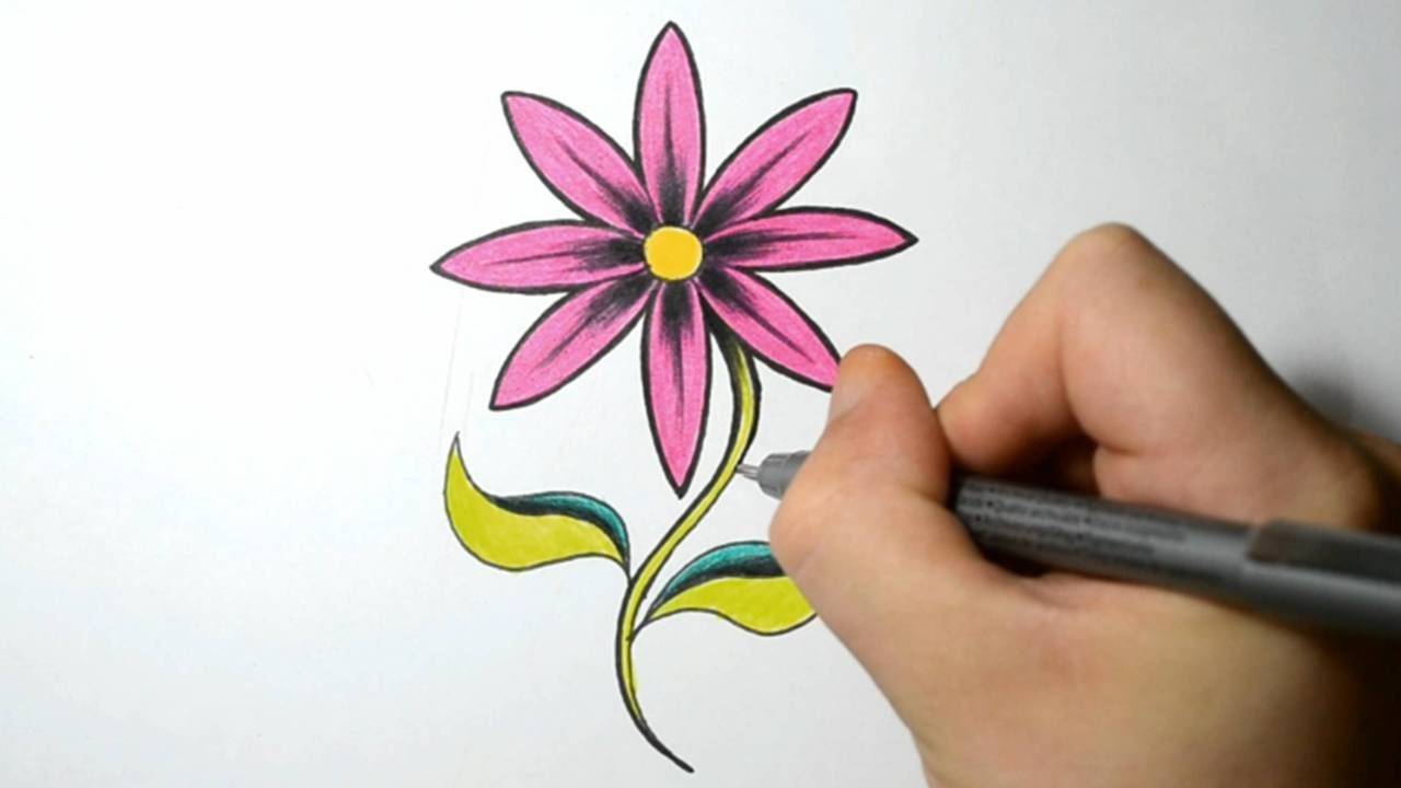 Drawn rose sharpie Flower How Hot a YouTube