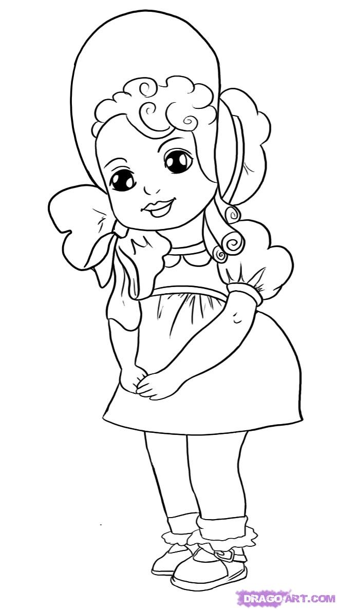 Drawn dall Images Drawings 6 Doll Doll
