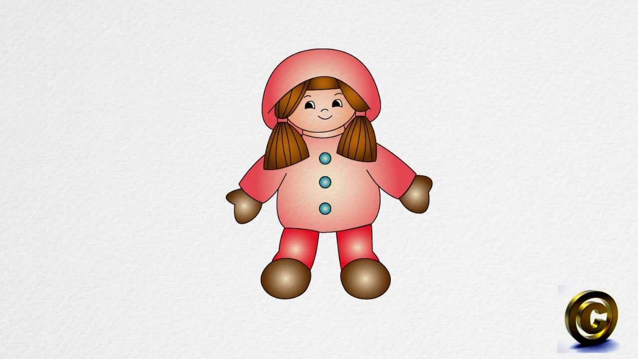 Drawn doll A How DOLL by DOLL