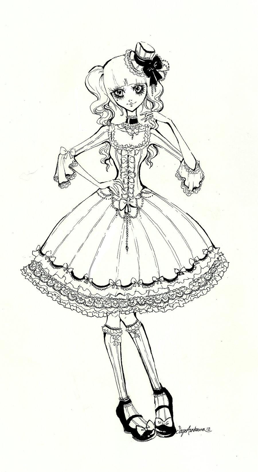 Drawn dall Doll Still Mirrei Still Still