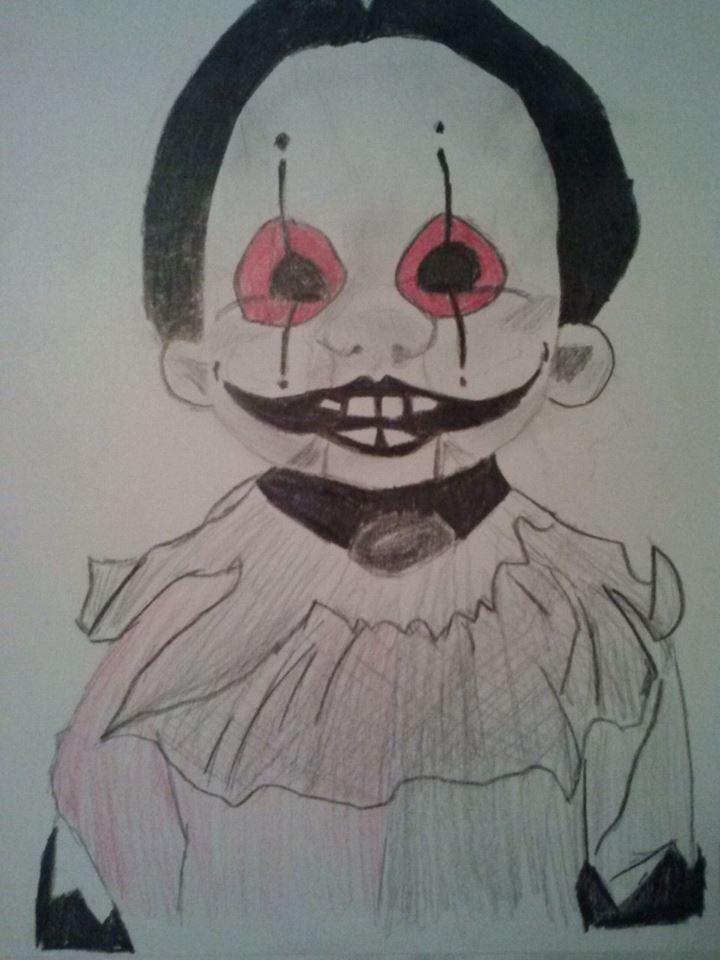 Drawn doll DeviantArt by xXanimetenshiXx Drawing Doll