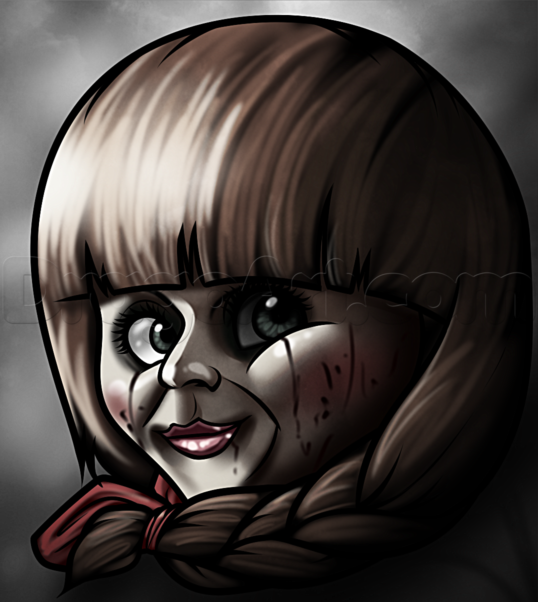 Drawn dall horror doll #1