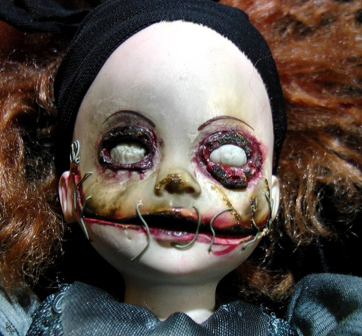 Drawn dall horror doll #12