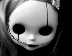 Drawn dall horror doll #4