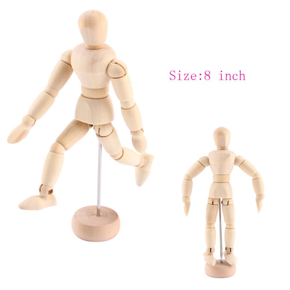 Drawn figurine clothed figure Draw on 8 Model Dolls