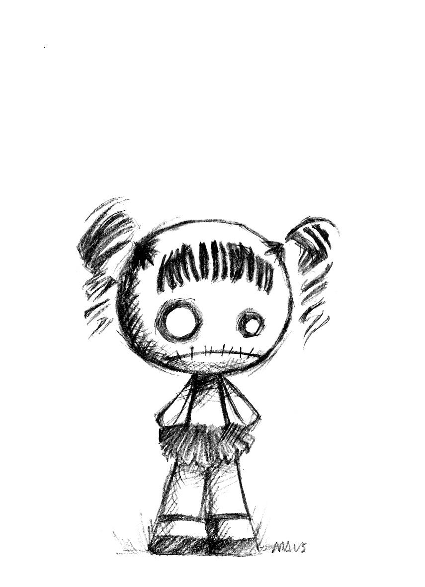 Drawn toy Pinteres… Rag … it! Doll