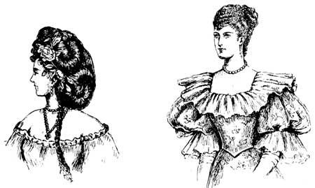 Drawn dall woman hairstyle #13