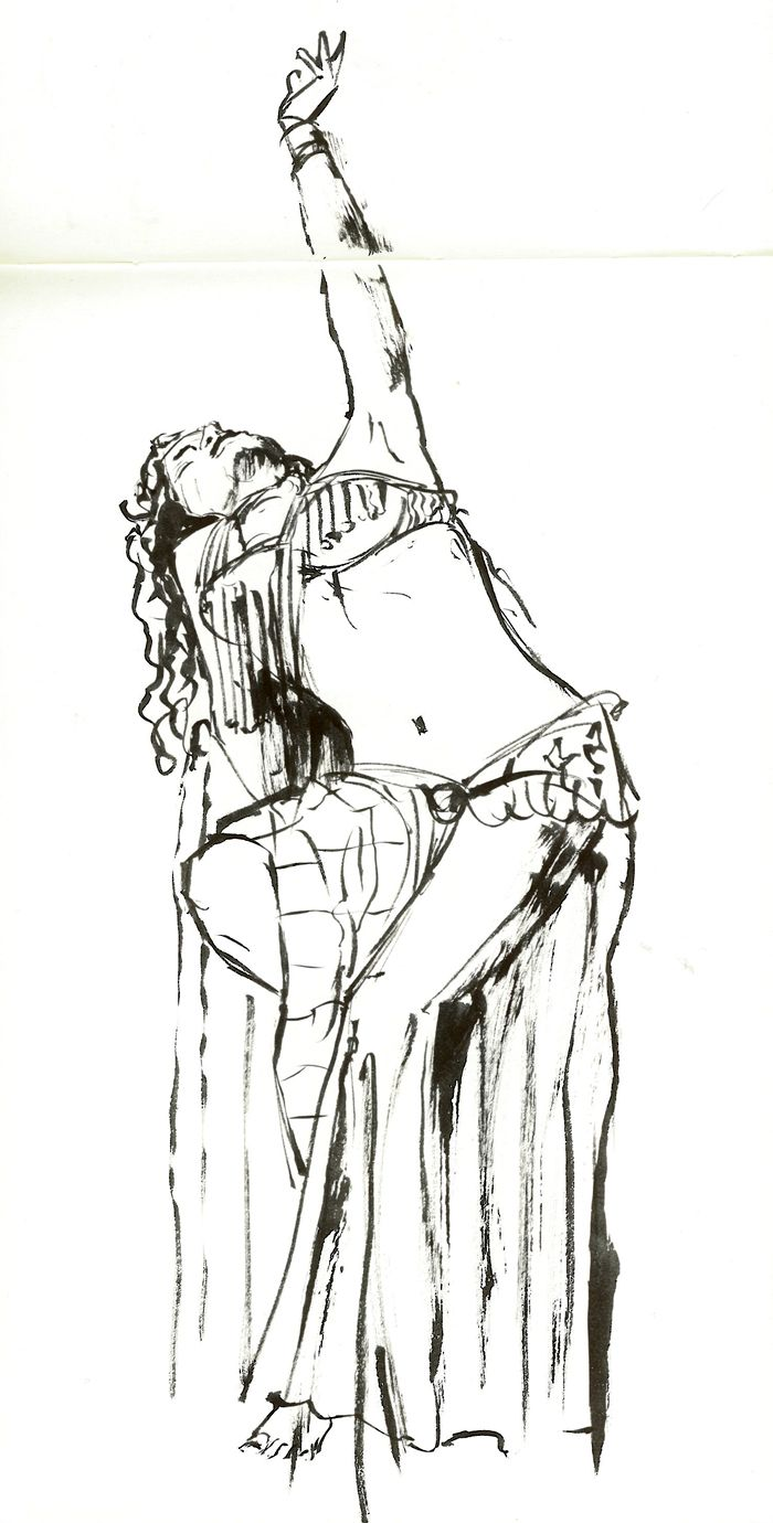 Drawn palace dancer Dancers images coloring belly Bellydance