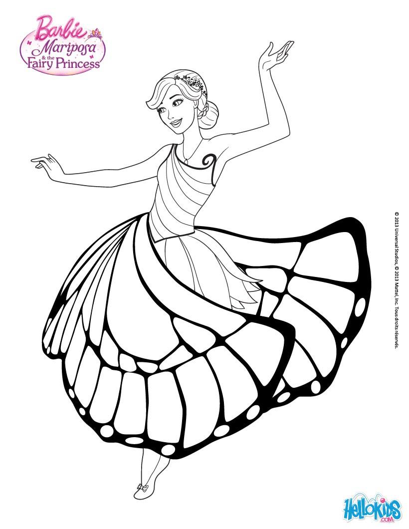 Drawn barbie barbie mariposa Kids Crafts barbie  The