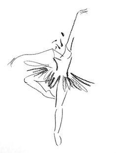 Drawn ballerine man easy Dancer Girl Beautiful Female inspo