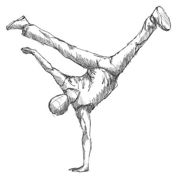 Drawn ballerina people dancing Drawing 25+ that dancing Dancer