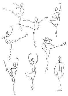 Drawn ballerina people dancing Love balletpainter art ballet I