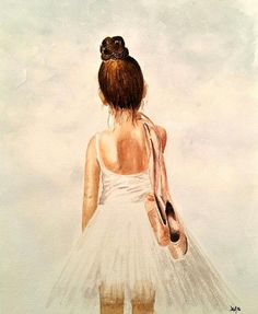 Drawn ballerine back By Beautiful today silhouette Ballerina