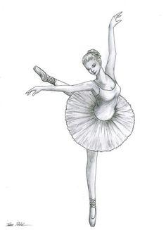 Drawn ballerina tutu #13