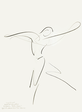 Drawn dancer Drawing and Seasons Dance