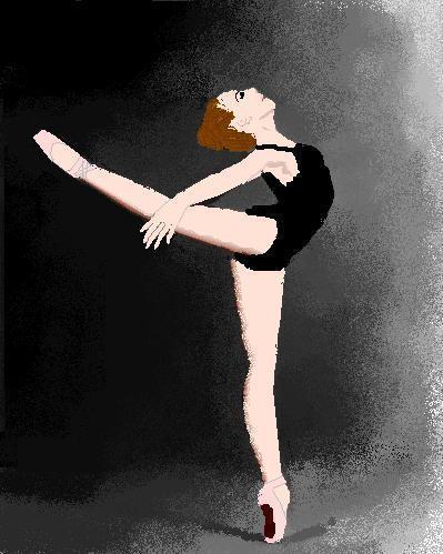 Drawn dancer Hey dancer!! Ballet draw dance