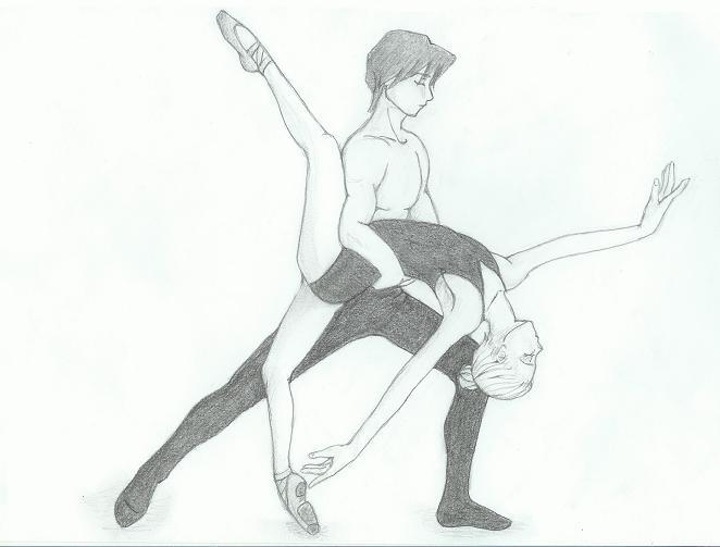 Drawn dancer Ballet DeviantArt anime anime by