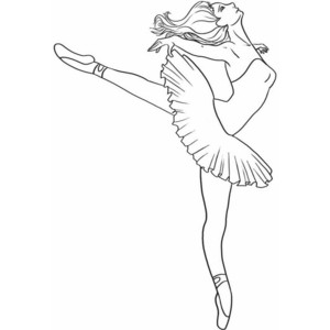 Drawn dancer How dancer a dancer to