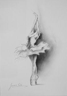 Drawn ballerina derwent inktense Ballerina 20+ ideas Pinterest ORIGINAL