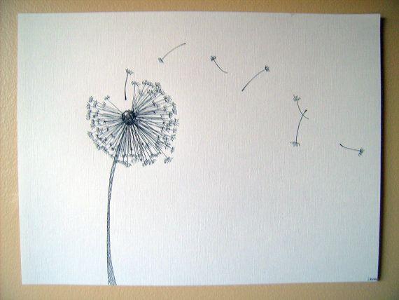 Drawn dandelion Best  Dandelion Hand tattoos