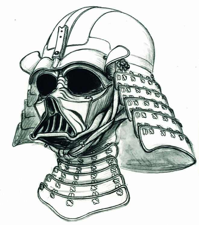 Drawn samurai darth vader / Lord Gallery: Conquers 77