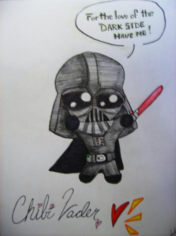 Drawn darth vader darrh Darth on DeviantArt Vader Darth