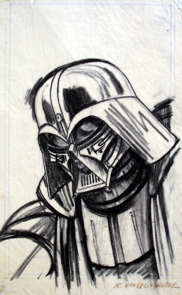 Drawn darth vader darrh For 1976 published in the
