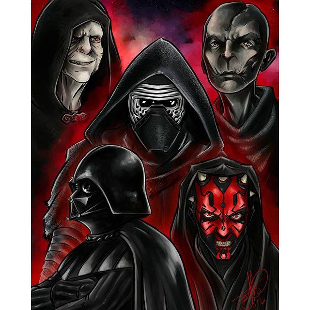 Drawn darth vader darrh #leader #vader #darkside #darth #snoke