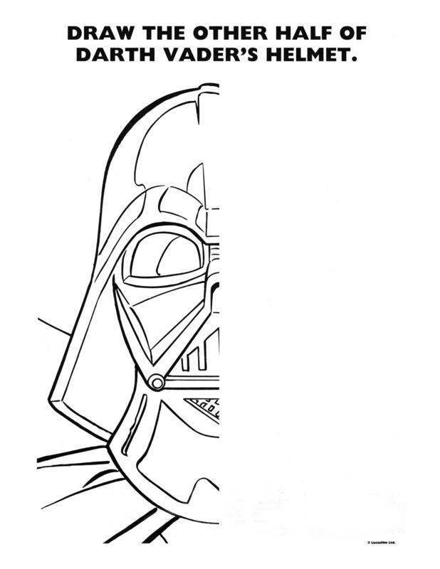 Drawn star wars 4th grade Printable Wars activity coloring Star