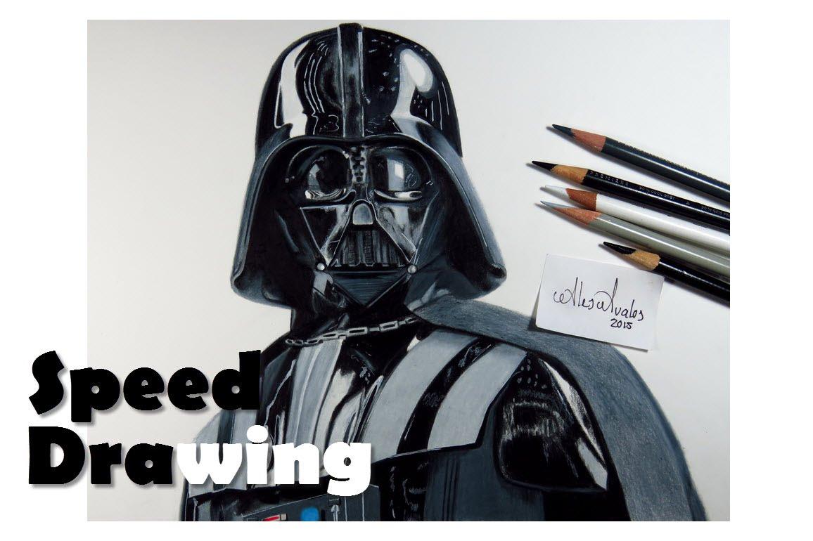Drawn star wars darth vader Drawing Drawing Drawing Vader Speed