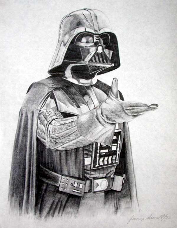 Drawn star wars darth vader Zapkapowcomics and Comic Art Pin