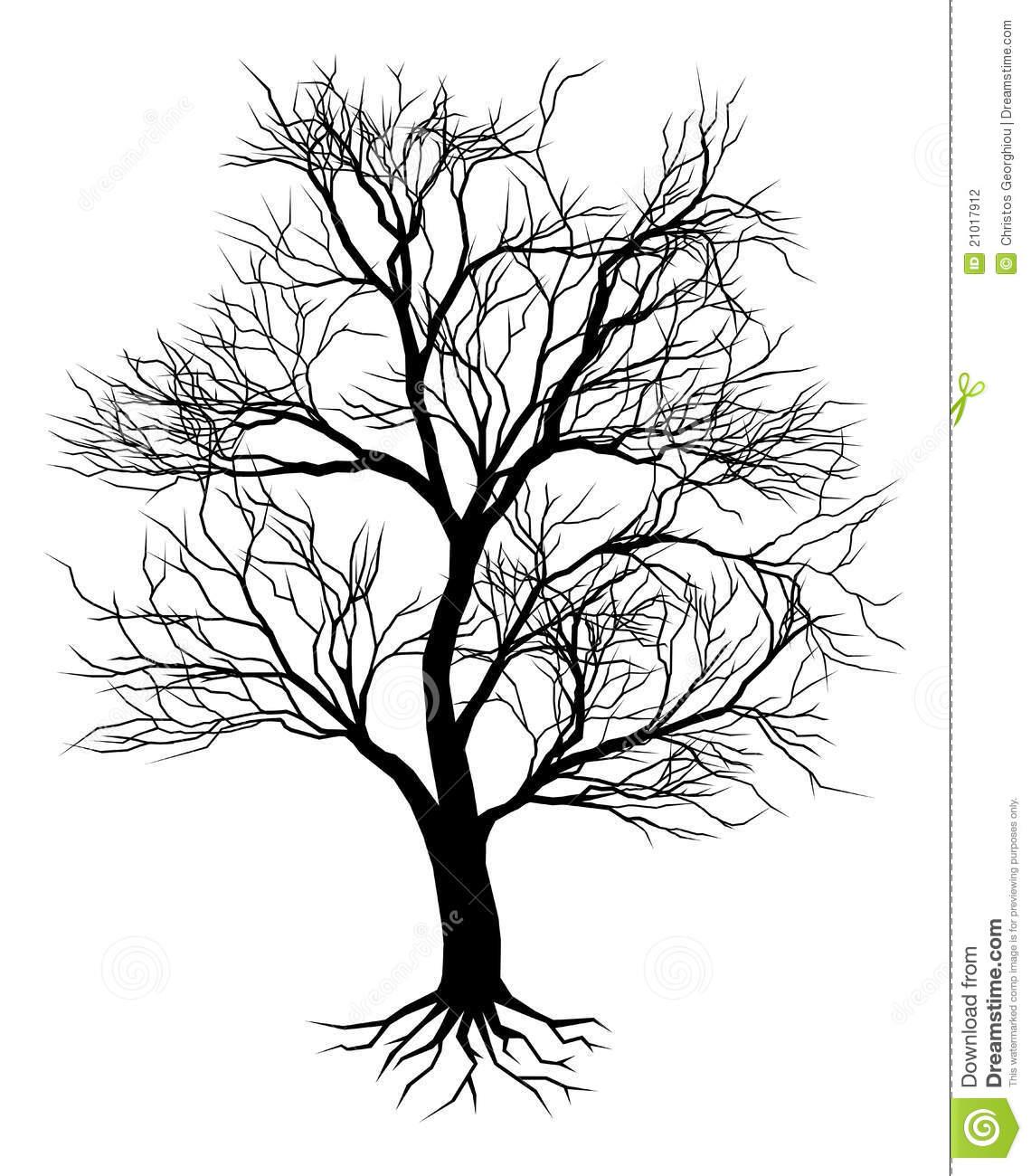 Drawn dead tree Tree Dead Drawing Oak Tattoo