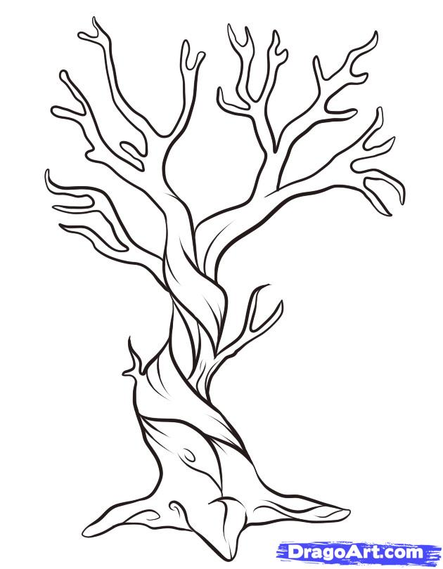 Drawn dead tree Narrated Narrated A by
