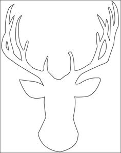 Drawn reindeer xma This Head by Silhouettes