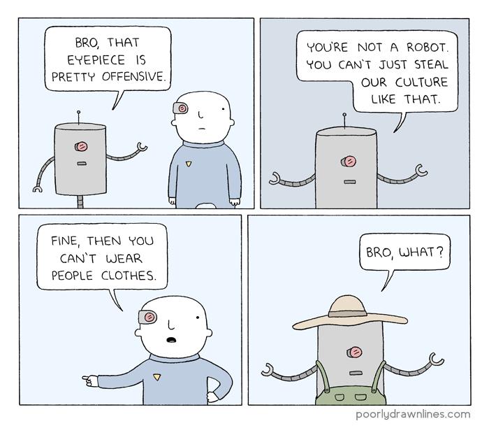 Drawn dear comic Culture  Stealing Humans [LOL]
