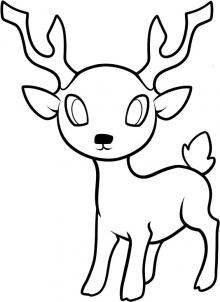 Drawn reindeer beginner Yourself deer an see can