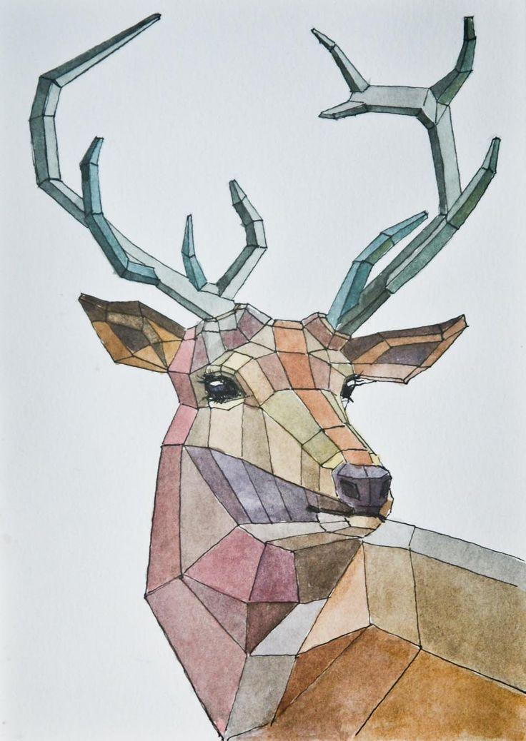 Drawn reindeer pinterest I to the until best