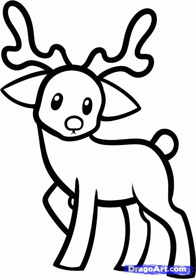 Drawn reindeer cute The Reindeer 25+ Animals by